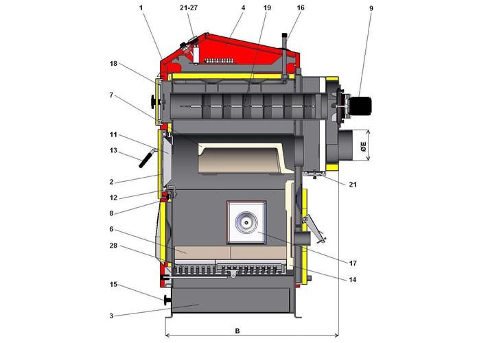 Atmos pellet D30P D40P