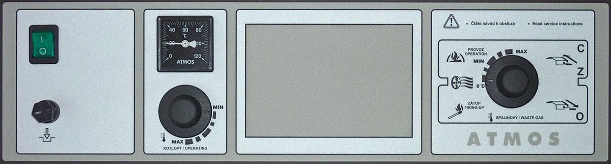 Panel kotła pellet Atmos