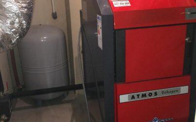 Realizacja kotłowni – kocioł Atmos DC40GD
